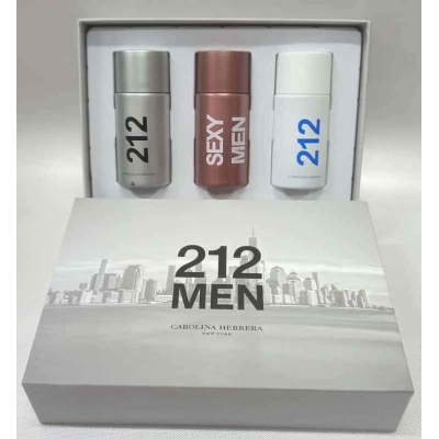 Carolina Herrera 212 Men 3x30ML