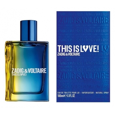Zadig & Voltaire This is Love! for Him - 100ML ТЕСТЕР
